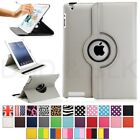 For Apple iPad 2/3/4 360 Rotating Magnetic PU Leather Case...