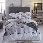 Penguin Single Double King Duvet Quilt Cover COTTON RICH Bed Set Photo Print