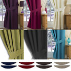 Lunar Thermal Pair Of Tie Backs. Available in 10 colours