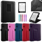 Slim PU Leather Stand Flip Cover Case for Amazon Kindle Voyage 2014 +Film/Pen