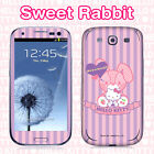 Hello Kitty Skin Decal Sticker iPhone Galaxy Universal Mobile Phone Sweet Rabbit