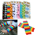 Cute Colorful Baby Toddler Girl Boy Leggings Children Long Socks Arm Leg Warmers