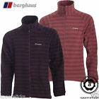 Berghaus Men's Fleece Stripes Thermal-Pro Jacket Desertrose Wineberry All Sizes