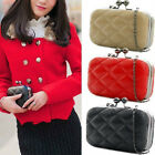 XMAS SPECIAL OFFERS Women PU Leather Clutch Evening Party Shoulder Messenger Bag