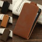 Hot Luxury Retro Leather Magnetic Vertical Flip Case Cover For Apple iPhone 5/5S
