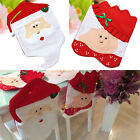 Cute Mr & Mrs Santa Claus Christmas Table Chair Cover Home Party Decoration