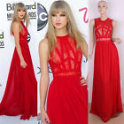 Taylor Style Celebs Sexy Lace Chiffon Formal Long Bridemaid Evening Party Dress