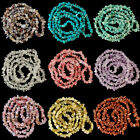 Natural Gemstone 5-8mm Chips Beads 34'' Lapis Quartz Labradorite Amethyst Agate