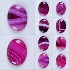 40mm Purple Brazilian agate oval cab cabochon for jewelry making