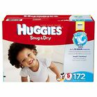 Huggies Snug and Dry Diapers, Size 1 2 3 4 5 6 PICK ANY SIZE FREE SHIPPING NEW