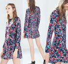 NEW Adorable print floral dress Europe Celebrity Style Slim Dress vintage retro