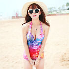 One Piece Sexy Tummy Control Triangular Piece Siamese Swimsuit Swimwear Monokini
