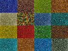 50g glass seed beads - Silver-Lined, size 8/0 (approx 3mm) - choice of colours