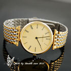 Mixed color stainless steel wristband men's import quartz dress watch