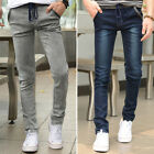 Draw String Design Mens Stylish Slim Fit Jean Pants Jeans Casual Trousers 28~36#
