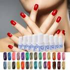 6ml Vernis à Ongle Soak Off UV Lamp Nail Art Manucure Glitter Paillette Laque