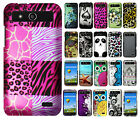 For Boost Mobile ZTE Speed N9130 Rubberized Hard Case Phone Cover + Screen Guard