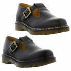 Dr Martens Shoes Genuine Polley Womens Smooth Leather Shoes Sizes UK 4 - 8