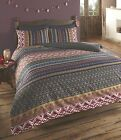 Indian Asian Quilt Duvet Cover Reversible Bedding Polycotton Bed Set NEW 4 Sizes