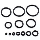 100x Pack Black Rubber Replacement O-rings For Ear Plug Taper Stretcher 1.6-20mm