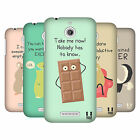 HEAD CASE DESIGNS DOSES OF NONSENSE HARD BACK CASE FOR HTC DESIRE 510