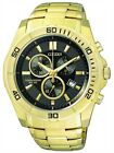 Citizen Chronograph Gent's 100m Gold Tone Contemporary Sports Watch AN7102-54E