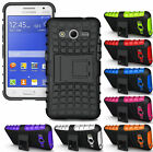 GRENADE GRIP RUGGED SKIN HARD CASE COVER STAND FOR SAMSUNG GALAXY CORE-2 G355
