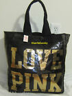SEQUIN Bling VICTORIA SECRET PINK GYM BEACH CARRY ON WEEKENDER TOTE BAG Limited