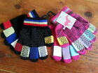 Multi coloured Pimple magic horse riding gloves ( childrens childs kids rainbow)
