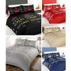 Dreamscene Keep Calm And Dream Duvet Cover Set