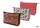 Ladies Tolietry / Wash Bag with Zip - Available in 3 Designs