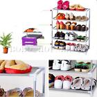 Multi Tiers Metal Shoes Shelf Rack Stand Storage Organizer Boot Holder Household