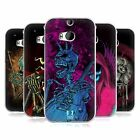 HEAD CASE SKULL OF ROCK SILICONE GEL CASE FOR HTC ONE M8