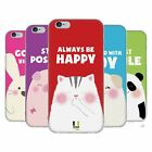 HEAD CASE HAPPY ANIMALS SILICONE GEL CASE FOR APPLE iPHONE 6 4.7