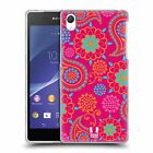 HEAD CASE PSYCHEDELIC PAISLEY SILICONE GEL CASE FOR SONY XPERIA Z2 D6502