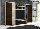 Living Room Furniture Set AGNES 2 - Entertainment unit- 280cm wide - TV Table