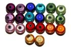 25 x 10mm Acrylic Miracle Illusion Beads 3D - Large Variety of Colours