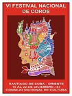 High Quality POSTER on Paper or Cotton Canvas.Art.Festival of Chorus.Sing.4086