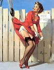 1950's Pin Up Poster 25 A3/A2 Print
