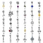 Hot Sell Silver Floating Charms Bead Fit 925 Sterling Silver Bracelet Pendant