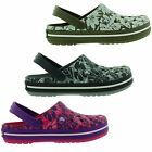 Crocs Crocband Tropical Print Clogs Womens Shoes