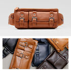 New Men's Genuine Leather Fanny Waist Pack Bag Wallet Purse B-013