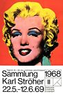 1960'S ANDY WARHOL MARILYN POP ART GERMAN EXHIBITION POSTER ART A3 RE PRINT