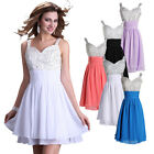 CHEAP SALE Formal Short Evening Bridesmaid Wedding Ball Gown Prom Party Dresses