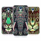 HEAD CASE AZTEC ANIMAL FACES SERIES 2 SILICONE GEL CASE FOR HTC DESIRE 620