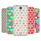 HEAD CASE HEART PATTERN SILICONE GEL CASE FOR HTC DESIRE 620