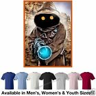 Star Wars Jawa w/ Blaster T-Shirt Avail. in 7 Colors in M/W/Y Sizes