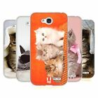 HEAD CASE CATS SILICONE GEL CASE FOR LG L90 D405