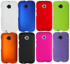 For Motorola Moto E 2nd Gen Rubberized HARD Protector Case Snap On Phone Cover