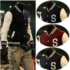 Popular Men's Baseball Jacket Varsity Clearance!Letterman Cotton Baseball Jacket